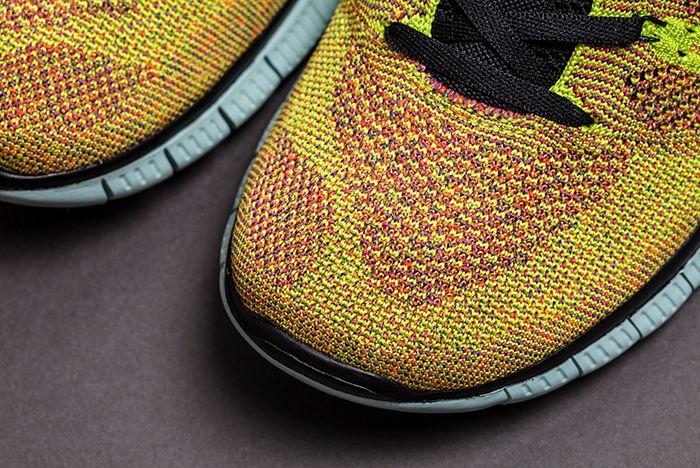 Nike Free Fly Knit Nsw Crimson 2