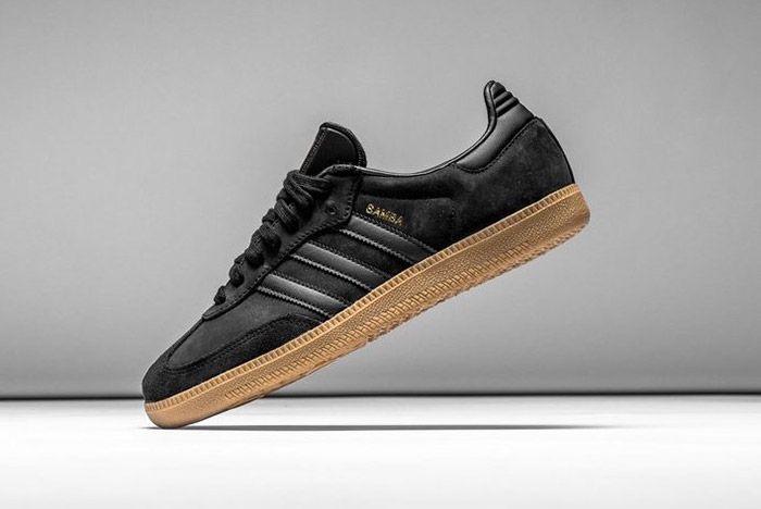 Adidas Samba Black Gum 3