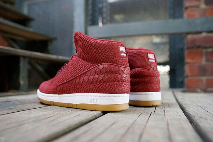 Nike Air Python Red Snakeskin 2
