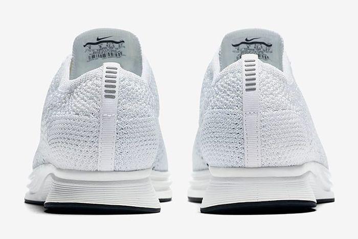 Nike Flyknit Racer Triple White6