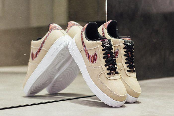Nike Air Force 1 07 Lv8 Khaki Afro Punk 1
