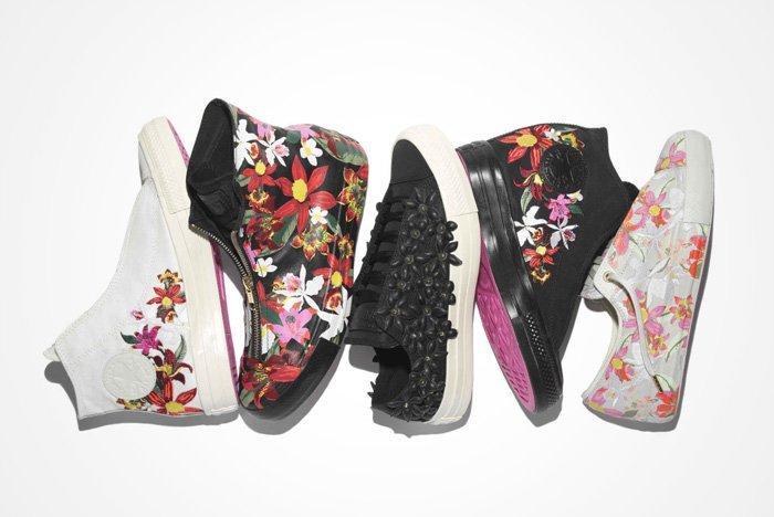 Pat Bo X Converse Floral Pack A