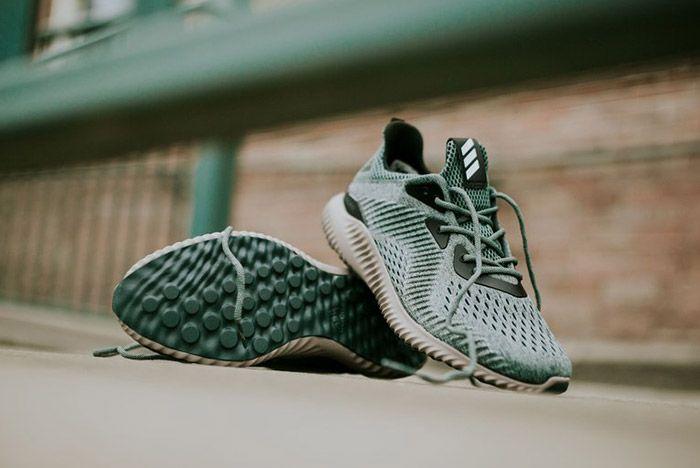 Adidas Alphabounce Trace Green 1