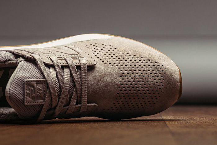 New Balance 247 Luxe Leather Marron 3