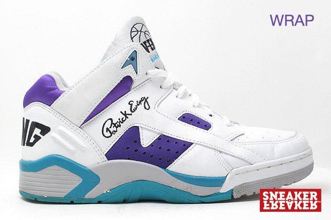 Ewing Sneakers Wrap Grape Teal 1