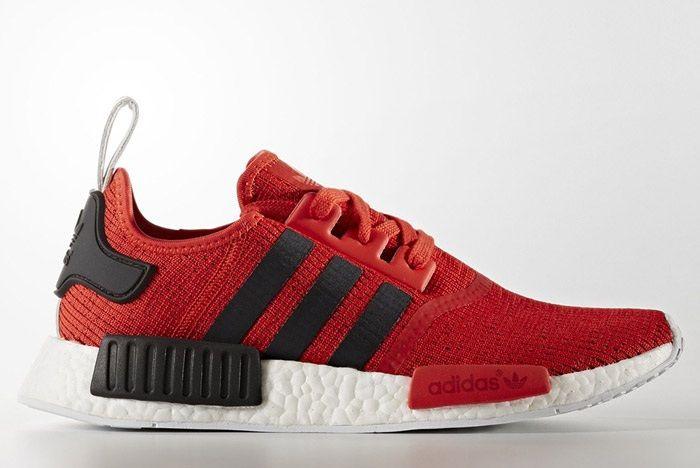 Adidas Nmd R1 Red Black White Bb2885