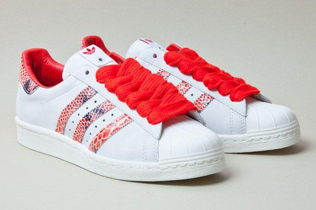 Adidas Consortium Shelltoe Snake Red 2 1