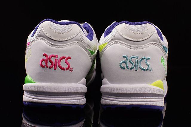 Asics Gel Saga Wmns White Pink Lime 31