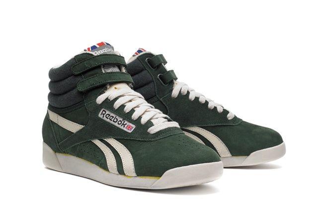 Reebok Freestylehi Vintage Green Hero 1