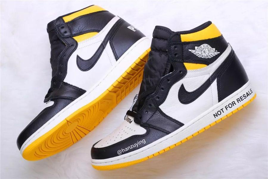 Air Jordan 1 Nrg No Ls Varsity Maize 861428 107 Release Date Sneaker Freaker