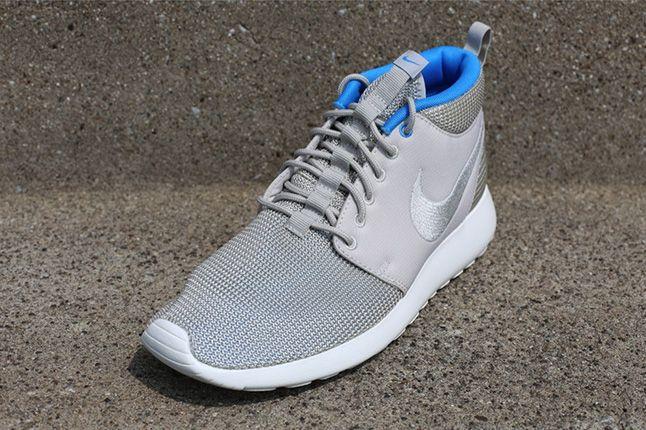 Nike Roshe Run Mid Summer Pack Blue Hero Quarter 1