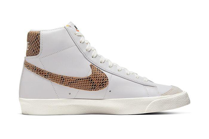 Nike Blazer Mid Vintage Python Ci1176 002 Release Date Medial