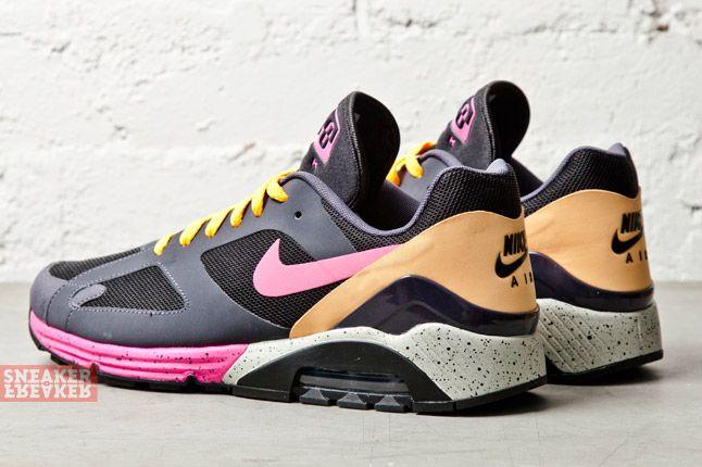 Nike Air Max Terra 180 Black Pink Foil Gridiron 1
