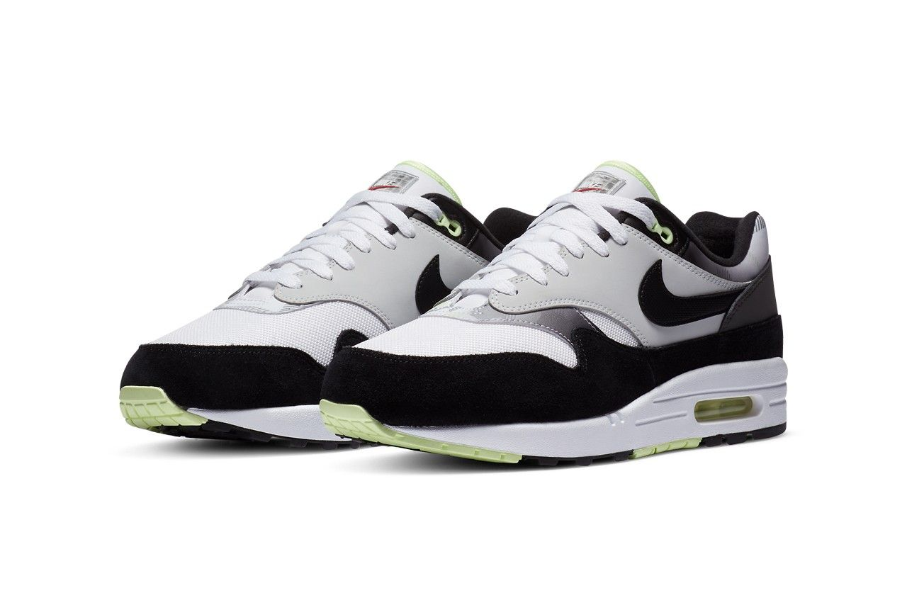 The Nike Air Max 1 'Iron Grey' Pays Homage to the Air Max 95 'Neon ...
