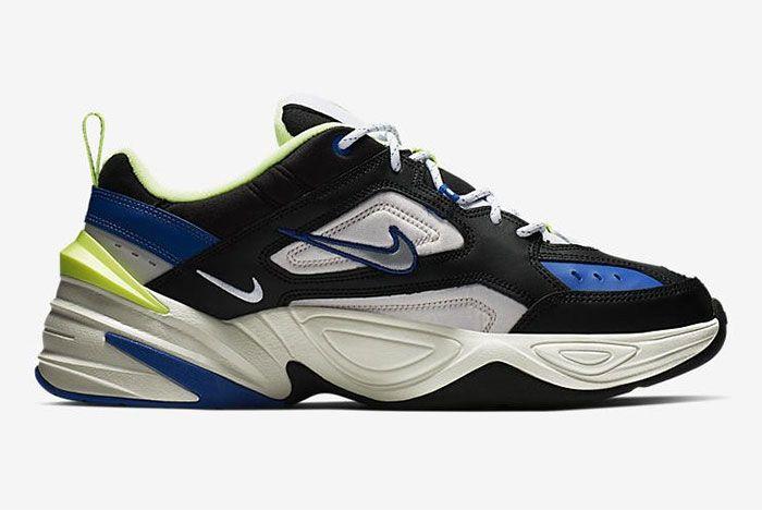 Nike M2 K Tekno Blue Black Volt Side Shot 3
