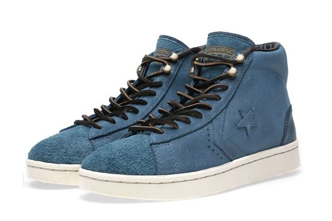 Converse First String Pro Leather Mid Zip 6