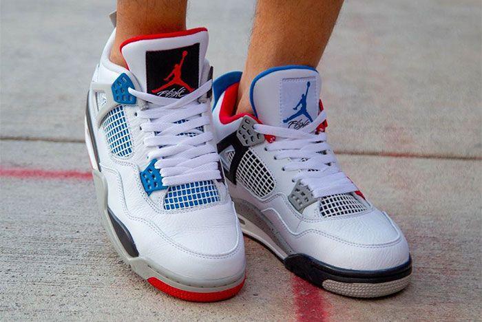 Air Jordan 4 What The On Foot Toe 3