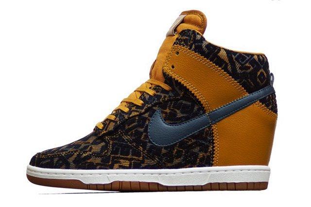 Nike Dunk Sky Hi Prm Gold Dynasty
