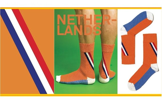 World Cup Socks Wong Wong Netherlands 1