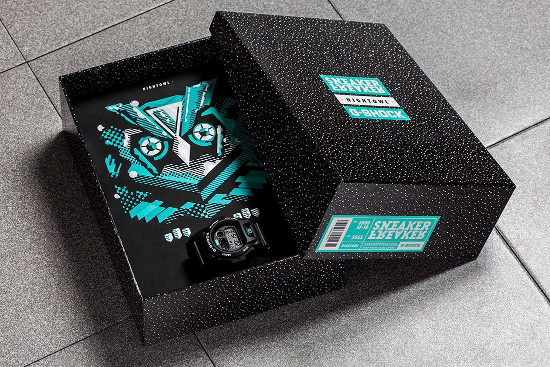 Sf G Shock Nightowl 8 Box