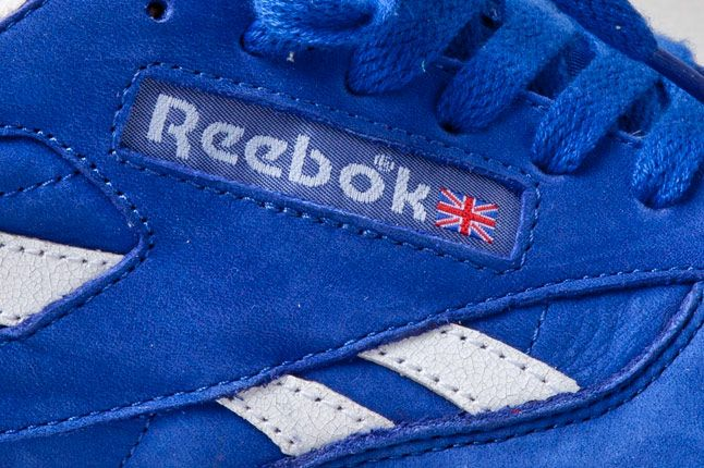 Reebok Classic Leather Vintage Union Blue Side 1