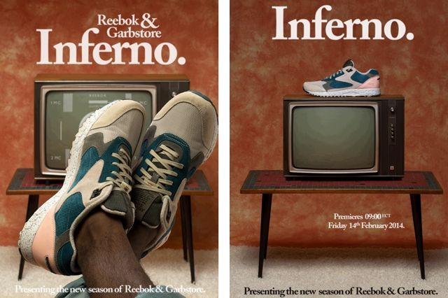 Reebok Garb Store Inferno Poster