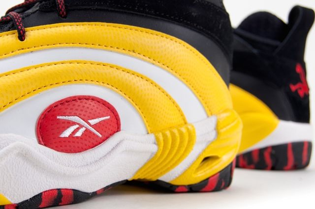Reebok Shaqnosis Og Black White Yellow Red 3