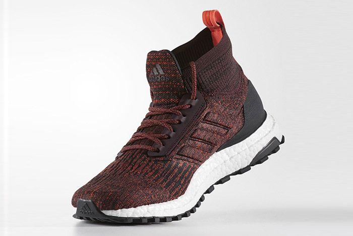 Adidas Ultra Boost Mid Atr Burgundy 3
