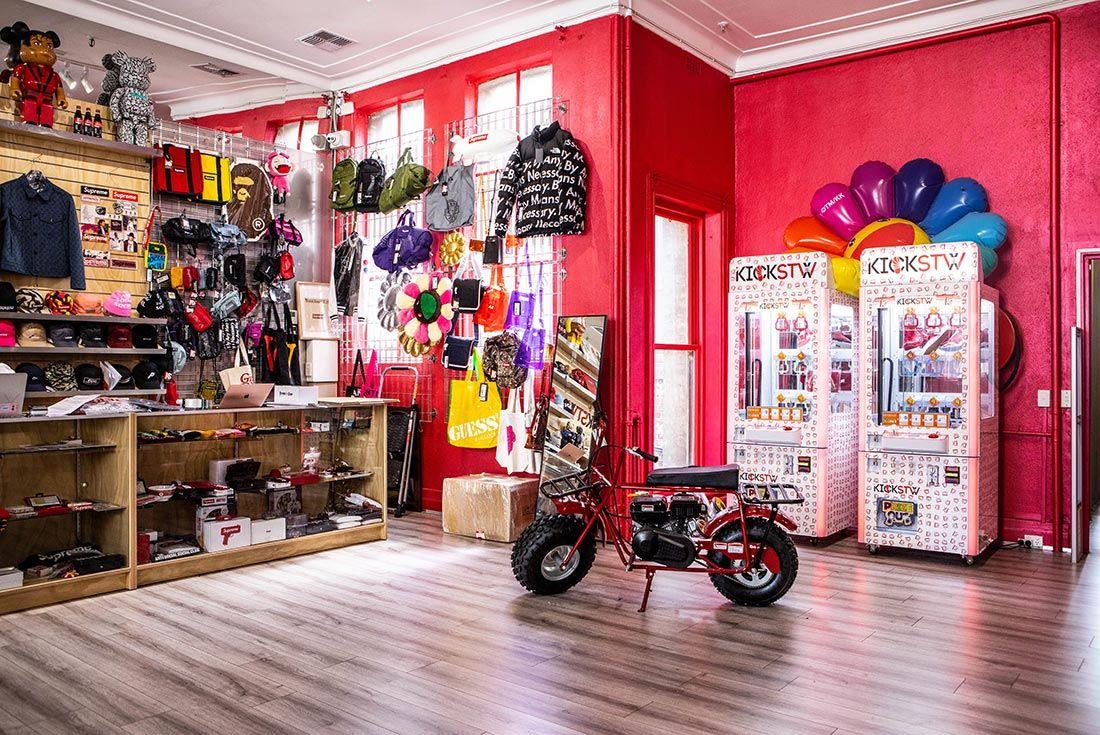 Kickstw Store Interior