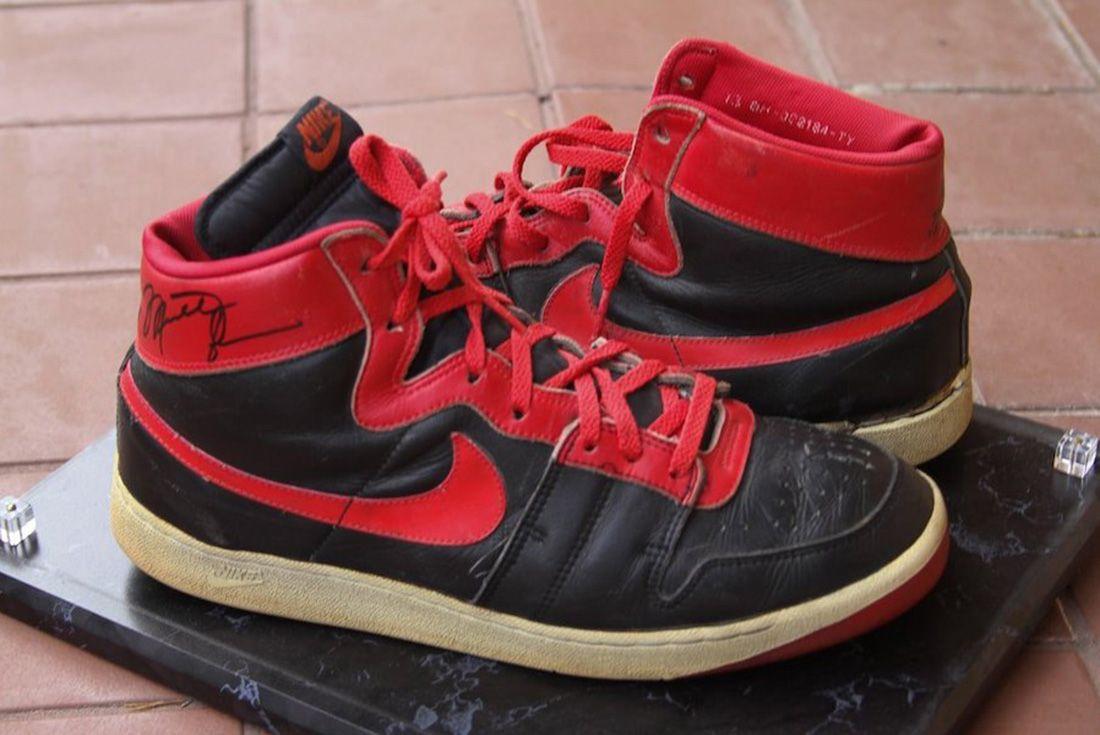 Nike Air Ship 1984 Banned Michael Jordan Side