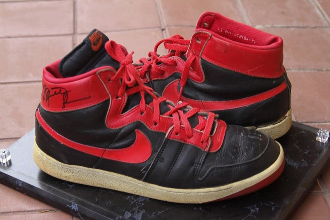 Nike Air Ship 1984 Banned Michael Jordan Side
