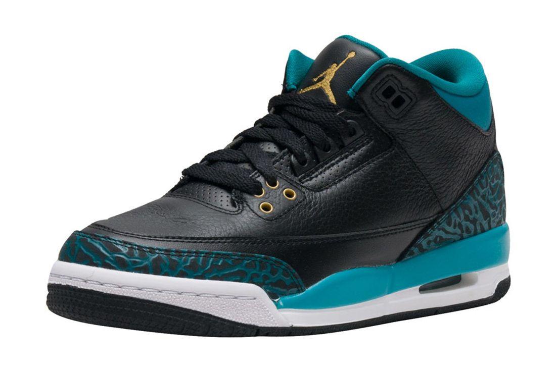 Air Jordan 3 Gs Rio Teal