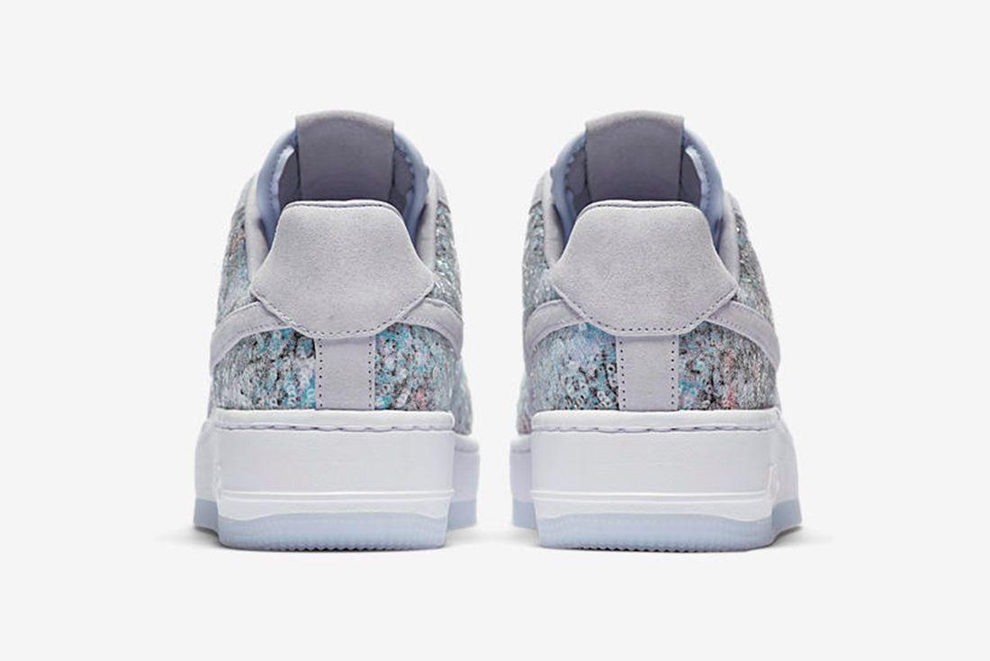 Nike Air Force 1 Upstep Low Glass Slipper 6