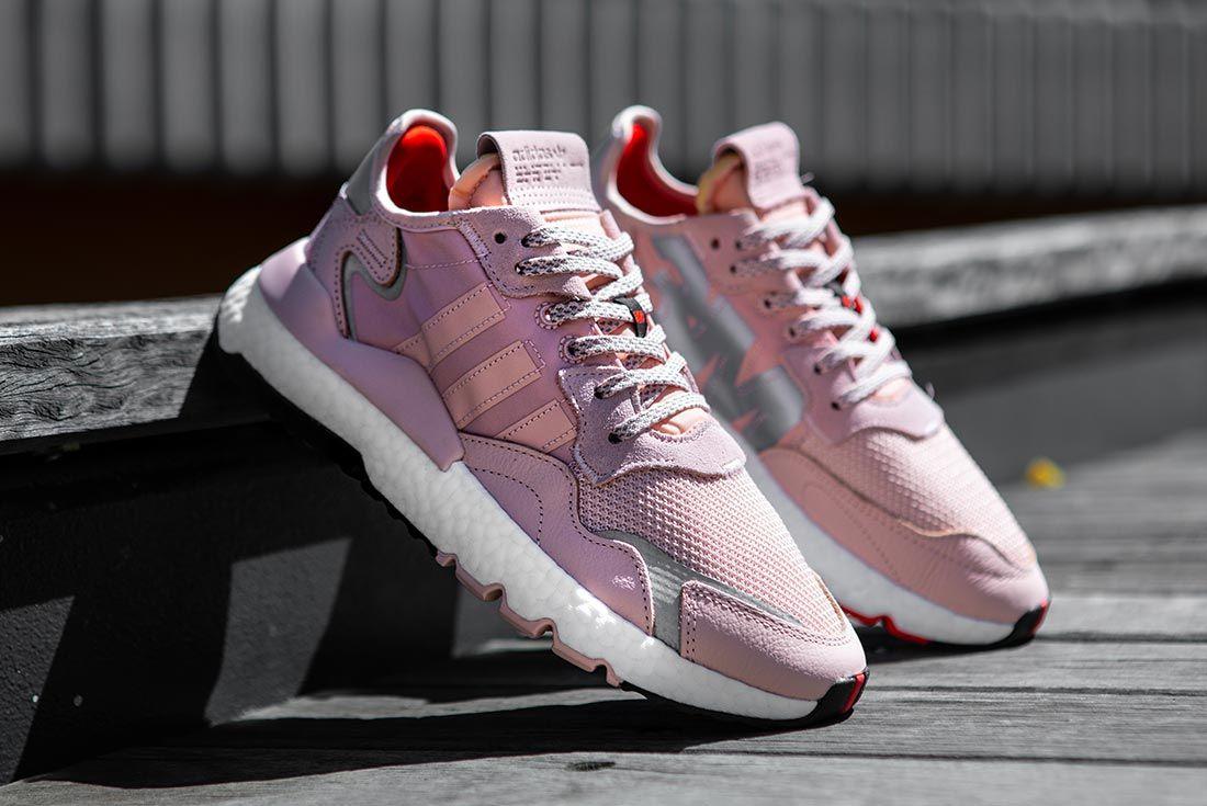 Nite Jogger Off Foot Pink Angle