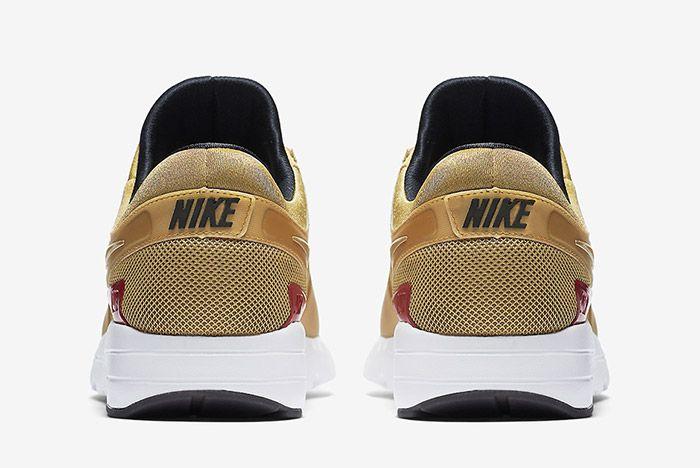 Nike Air Max Zero Metallic Gold 2