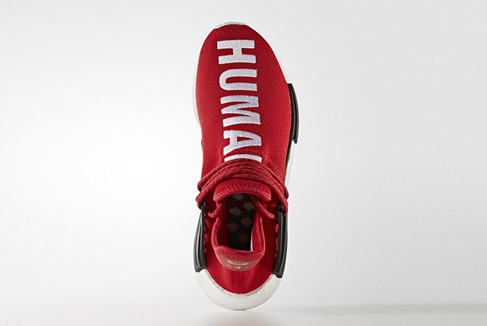 Pharrell Williams X Adidas Hu Nmd Red2