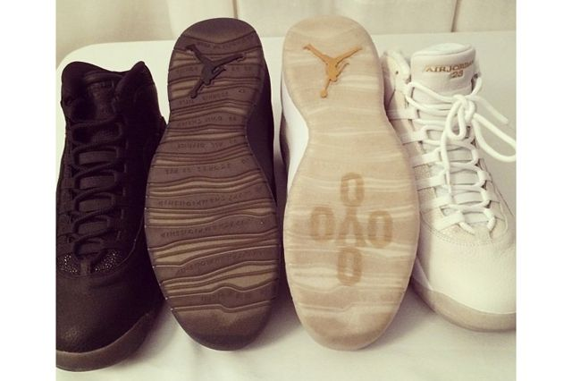 Drake Signs To Air Jordan Stingrays Outsole