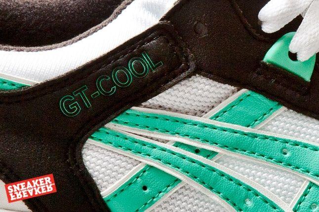 Asics Gt Cool Black Mint 2 Midfoot Detail 1