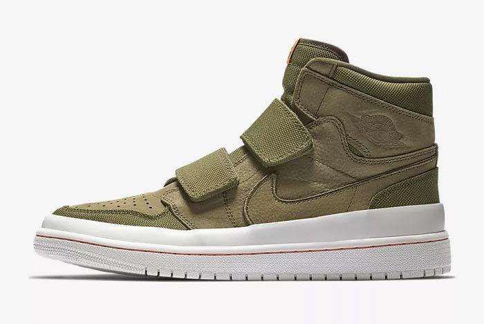 Air Jordan Double Strap Olive 2