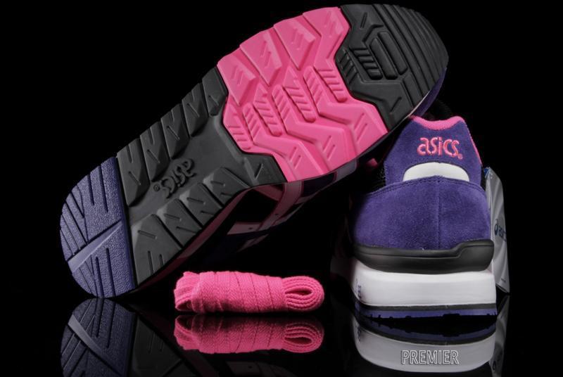 Asics Gt Ii Black Purple White Outsole