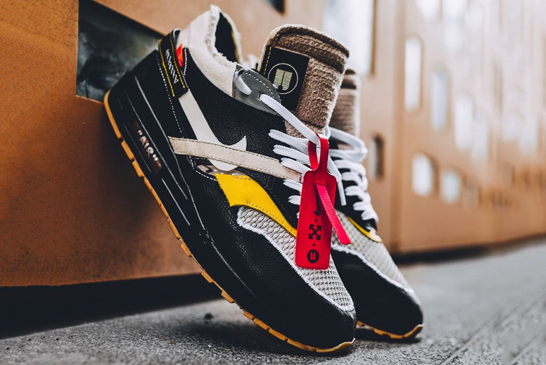 Nike Air Max 1 'Off-White' Pack - Black Edition bespokeind