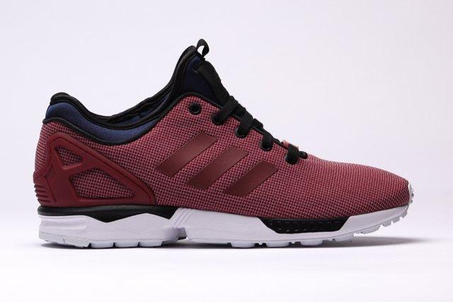 Adidas Zx Flux Nps Core Burgundy 1