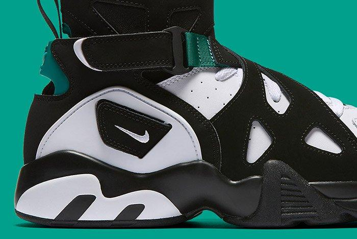 Nike Air Unlimited Retro White Black Emerald 4