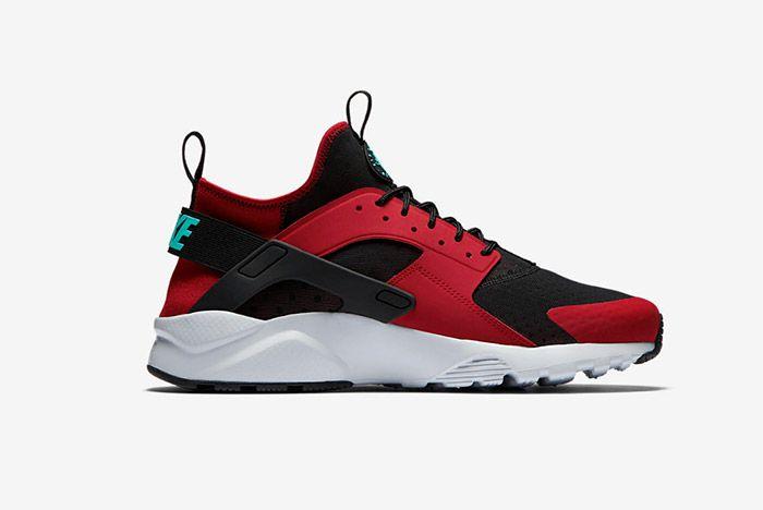 Nike Huarache Ultra Red Black 5