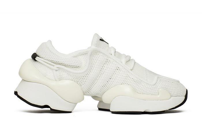 Adidas Y 3 Ren White F99798 Medial Side Shot
