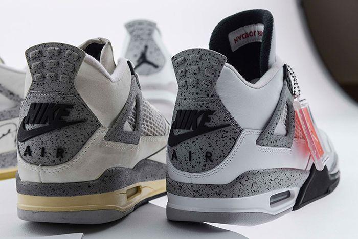 Air Jordan 4 White Cement8