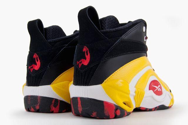 Reebok Shaqnosis Og Black White Yellow Red 1