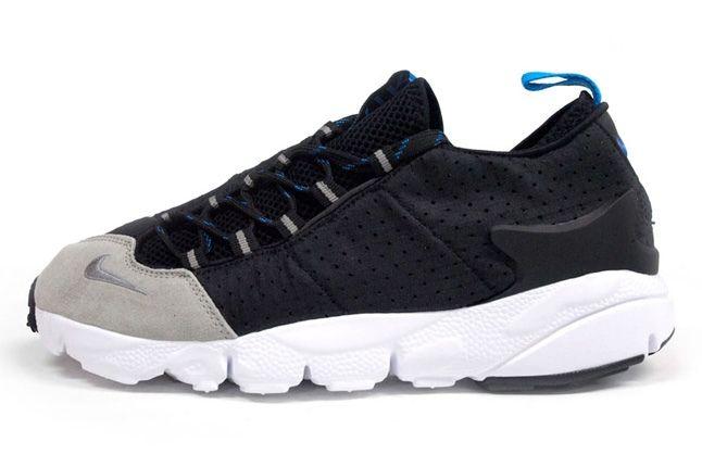 Nike Air Footscape Motion Grey Black Profile 1