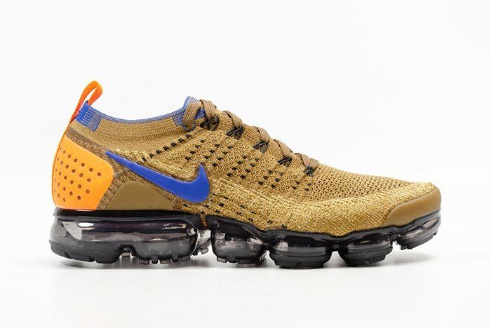 Nike Air Vapormax Flyknit Golden Beige 1