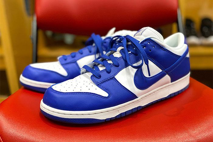 Nike Dunk Low Kentucky White Royal Blue Release Date Leak
